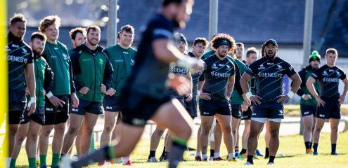 GALLERY| Connacht Vs Dragons pre training